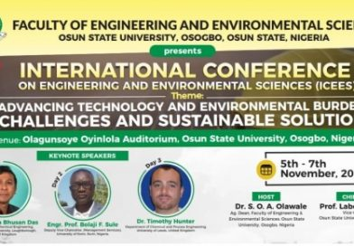 UNIOSUN To Hold Int'l Conference on Engineering and Environmental Sciences