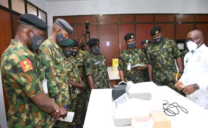 Why Nigeria Military Personnel visited UNIOSUN