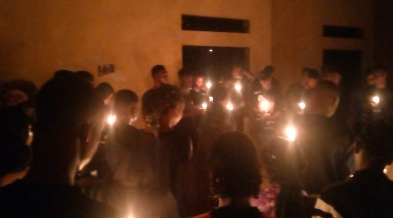 UNIOSUN students hold candlelight, pay last respect to Aramide